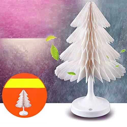 Kreative Weihnachtsbaum-Farbe, Die Geführtes Helles Mini Buntes Usb-Schreibtisch-Lampen-Augenpflege-Leselicht Schlafzimmer-Nachttisch-Nachtlicht Ändert