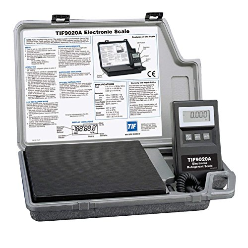 Robinair TIF9020A Electronic Refrigerant Scale