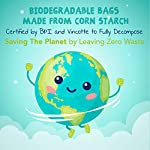 ZPAW Compostable and Biodegradable Dog Poop Bags Made with Corn Starch | Large Environmentally Friendly Dog Waste Bags Certified 100% Compostable and Biodegradable (160 Pet Waste Bags) 12