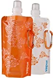 Vapur Funsize 2-Pack 0.4 Litres Anti-Bottle (Orange) by Vapur