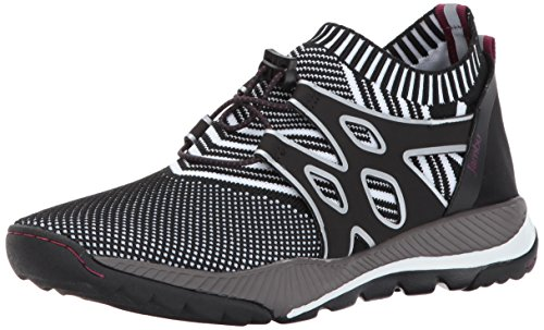 Jambu Women's Jackie Vegan Fashion Sneaker, Black, 7.5 M US