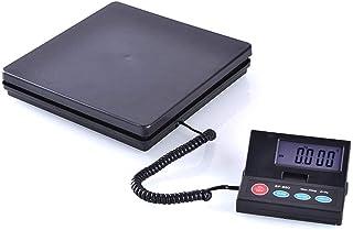 Báscula de paquete express más reciente, báscula digital electrónica de alta precisión, pantalla con retroiluminación LED, báscula de plataforma, función de apagado automático (tamaño: 25 kg / 1 g)