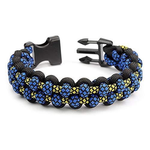 Paracord 550 Bracelet pour Homme et Femme Olympics Cobra Taille XL