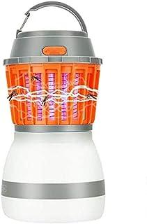 Apark Mosquito Killer lámpara Mata Mosquitos electrico Exterior Interior Profesional Anti Mosquitos electrico, para Interior y al Aire Libre, Negro (Naranja)