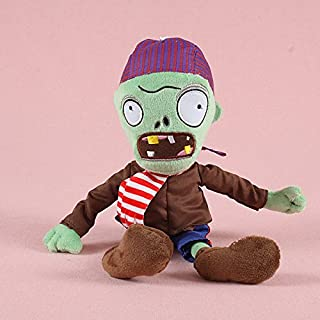 Generic Collection 2018!!! Plants vs Zombies 2 PVZ Figures Plush Baby Staff Toy Stuffed Soft Doll (New Pirate Zombie)