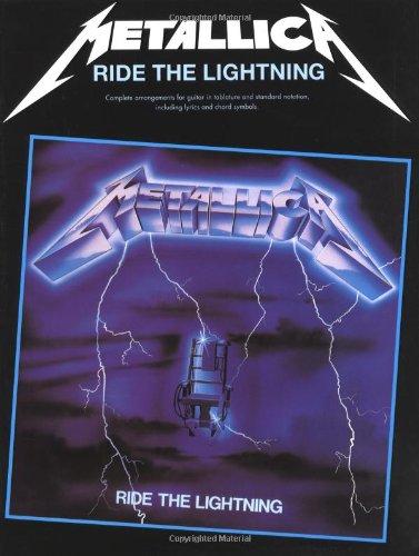 Metallica: Ride the Lightning Guitar (Tab Edition) [Lingua inglese]
