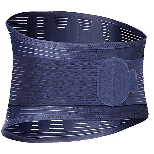 El refuerzo para la espalda de malla transpirable proporciona alivio para el dolor de...