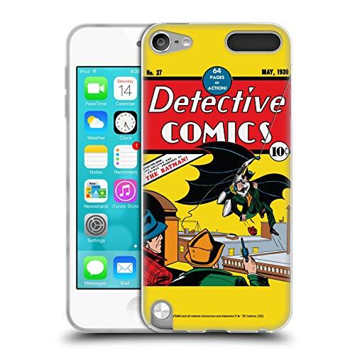 Head Case Designs Oficial Batman DC Comics Detective de Primera aparición Disfraces icónicos Carcasa de Gel de Silicona Compatible con Apple iPod Touch 5G 5th Gen