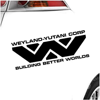 KIWISTAR   Weyland   Yutani Corporation Heckscheibe in 15 FARBEN Aufkleber Sticker