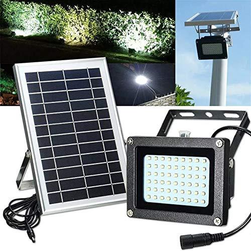L.J.JZDY Solarleuchten 54 Licht-Solarwasserdichte Outdoor-Gloves Panel-Flut-Licht Billboard-Gartenleuchte Licht-Licht Powered