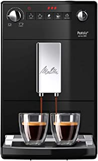 Melitta Purista F23/0-102 helautomatisk kaffemaskin med tystgående kvarn, svart