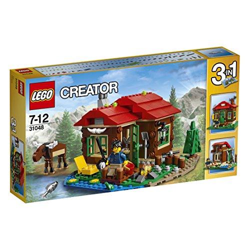 LEGO Creator 31048 - Hütte am See, Bausteinspielzeug
