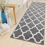 alfombra pasillo gris