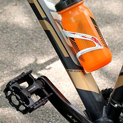 ZONKIE Mountain Fahrräder Pedale, Pedal aus Kunstharz - 5