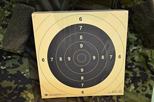 EURO-BULLETS BDS Schießscheibe Nr. 5. Pistole 25/50 m. ISSF. Präzision 200 Stück
