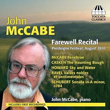 McCabe: Farewell Recital