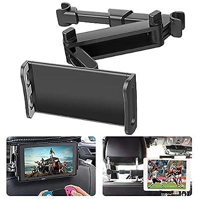 """【Compatibilidad Fuerte】: Este soporte para reposacabezas de Tablet cochees completamente compatible con tabletas, teléfonos celulares y otros dispositivos que van desde tabletas de 4 """"-10.6"""" para iPad air / iPad / iPad mini / iPad Pro, Kindle Fire HD..."""