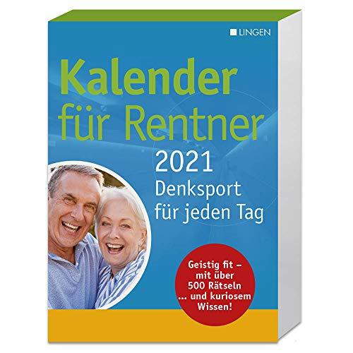 Kalender für Rentner 2021: Denksport für jeden Tag