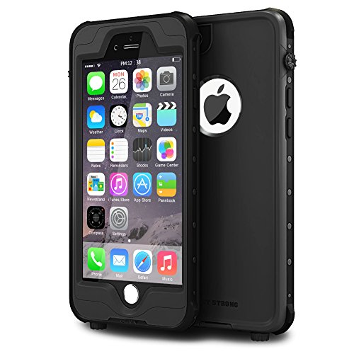 """ImpactStrong iPhone 6 Waterproof Case [Fingerprint ID Compatible] Slim Full Body Protection Cover for Apple iPhone 6 / 6s (4.7"""") - Lime Green"""