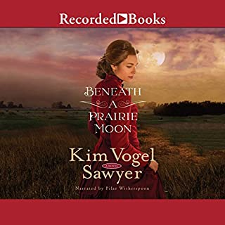 Beneath a Prairie Moon                   By:                                                                                                                                 Kim Vogel Sawyer                               Narrated by:                                                                                                                                 Pilar Witherspoon                      Length: 12 hrs and 55 mins     126 ratings     Overall 4.6