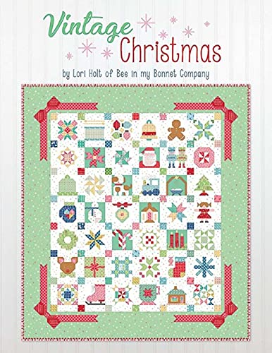 It's Sew Emma Vintage Christ mas Quilt Book by Lori Holt of Bee in My Bonnet