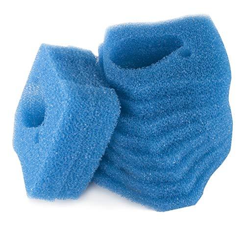 LTWHOME Remplacement Grossier Bleu Pre-Filtration Mousseux Convient pour Eheim Professionnel Pro 3 250, 250T, 350, 350T, 600/ Ultra G Pro 3 Filtre 2071,2073,2075 Et Eheim Pro 3e 350 /2074 (Paquet de 12)