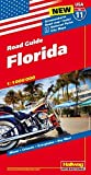 Hallwag USA Road Guide 11. Florida 1 : 1 200 000: Straßenkarte. Road map. Index. National Parks. City Maps: Miami, Orlando, Everglades, Key West