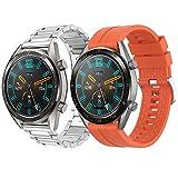 Supore Correa Compatible con Huawei Watch GT2 46mm/Watch GT 46mm/Watch GT Active/Watch 2 Pro/Honor...