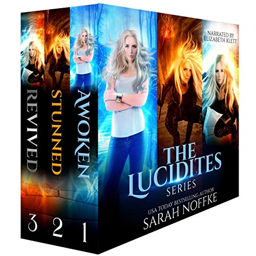 The Lucidites Boxed Set audiobook cover art