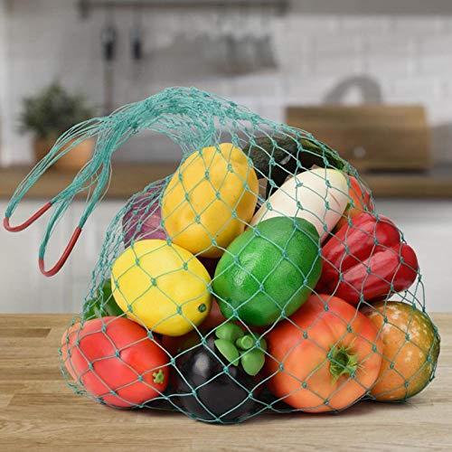Omabeta Bolsa de Fruta de Nailon Bolsa de Fruta de Malla útil Bolsa de Almacenamiento de Fruta de transpirabilidad Mejor Vegetal para Juguetes Fruta