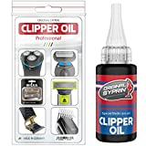 SYPRIN aceite de cabeza de afeitado - lubricante universal para máquinas de cortar pelo cortapelos I aceite maquina cortar