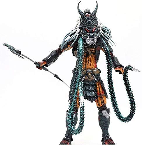 hclshops Películas - El Predator - Figura de acción 7' Jefe Escala Predator de colección for los Aficionados Extranjeros