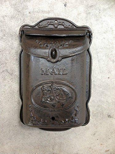 Briefkasten Letter Box Wandbriefkasten Postkasten Gusseisen Antik Stil Nostalgie Letterbox