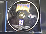 The Ultimate Doom Pc Cd-rom Software Game Disc #04-10333cd (For Older Operating Windows Systems Copyright 1993/1995 Time Frame)