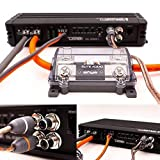 Elite Audio 8 Gauge CCA Premium Amp Kit - EA-PRMK8 Complete Amplifier Installation Wiring Kit with 20 feet 8 AWG + 2-Channel RCA Interconnects 1000W