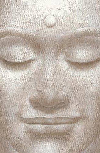 1art1 Buddhismus - Buddha, Grinsend Fototapete Poster-Tapete 175 x 115 cm
