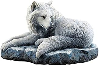 XoticBrands UNWU76841VA Guardian of The North by Lisa Parker-Wolf Animal Statue