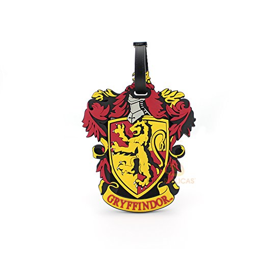 Harry Potter Travel Suitcase ID Luggage Tag and Suitcase Label - Cinereplicas (Gryffindor)