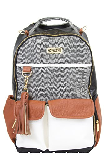 Itzy Ritzy Diaper Bag Backpack – Large Capacity Boss Backpack Diaper Bag Featuring Bottle...