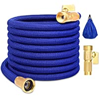 HouGariee 50ft No-Kink Flexible Expanding Water Hose