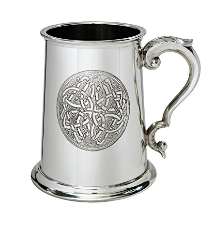 Wentworth Pewter Celtic circle 1 Pint Pewter tankard