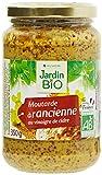 Jardin Bio Moutarde à l'Ancienne au Vinaigre de Cidre 350 g