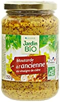 Biologique Moutarde à l'ancienne au vinaigre de cidre bio Pot de 350g