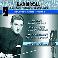 Columbia Masters - Vol.1 by New York Philharmonic Orchestra