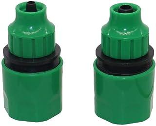 anruo 1pcs Hose barb quick connector garden water irrigation drip irrigation connector connection tool