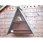 barn owl nest box (Dark Brown)