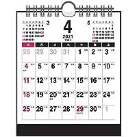 卓上カレンダー【2021年 4月始まり】コンパクト メイト CTN-562