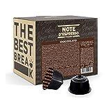 Note d'Espresso Italiano - Cápsulas de chocolate, Compatibles con cafeteras de cápsulas Nescafé, Dolce Gusto, 48 unidades de 14g