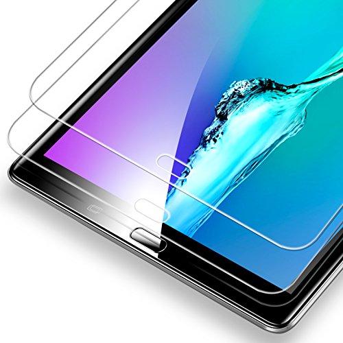 ESR [2 Stück Schutzfolie für Samsung Galaxy Tab A 10.1 Schutzfolie, Samsung T580 Panzerglas, Tempered Glas Folie Gehärteter Bildschirmschutz Folie für Samsung Galaxy Tab A 10.1 2016 T580/T580N