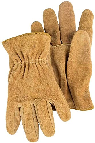 FZWAI Guantes de trabajo Guantes for hombre de trabajo for los guantes de soldadura y Solding jardinería for Hombres Mujeres